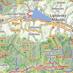 Nizke Tatry Online Turisticka Mapa Spoznaj Eu