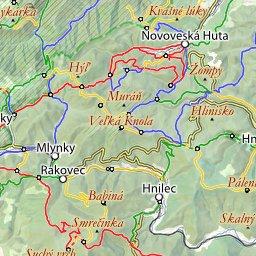 Slovensky Raj Online Turisticka Mapa Spoznaj Eu